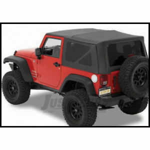Bestop Jeep Soft Top Kit W/Hardware For 07-18 Wrangler