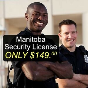 Security Guard License and Training - Brandon