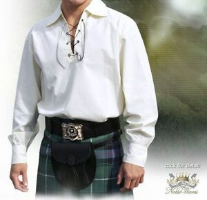 Broadsword Jacobite kilt shirt - size Large