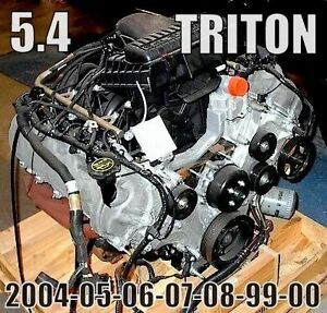 MOTEUR 5.4 FORD  F150 & F250   2004 a 2010 TOP COND $2499 CH