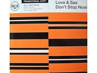 Love & Sas ‎– Don't Stop Now 12''