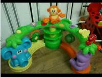 Fisher price crawl and cruise jungle