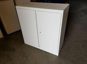 White Storage Cabinets ($145) - Item #6941
