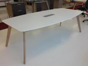 Modern Boatshaped Boardroom Table ($595) - Item #7312