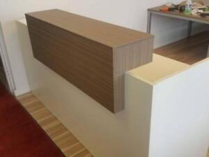 Modern L Shaped Reception Desk ($1,039.50 - $1,155) - Item #6972