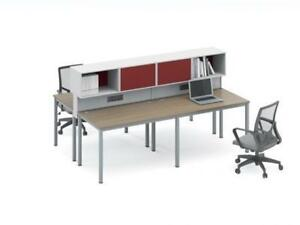 Modern Workstation For 4 ($1,356.18) - Item #4801