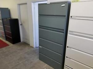 Teknion 6 Drawer Lateral File Cabinet ($270 - $450) - Item #7547