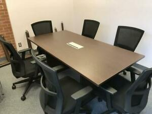 Contemporary 6ft Boardroom Table ($460) - Item #7236