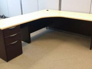L Shaped Desk ($345) - Item #6524