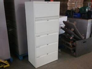 Teknion 5 Drawer Lateral File Cabinet ($95) - Item #6701