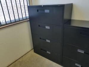 Global 4 Drawer Lateral File Cabinet ($295) - Item #7534
