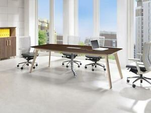 8ft Boat Shape Conference Table - BRAND NEW - Item #3035