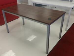 Modern Grey Steel Frame L Shaped Desks ($480.92) - Item #7546