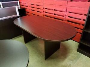 6ft Oval Conference Table ($215) - Item #6715