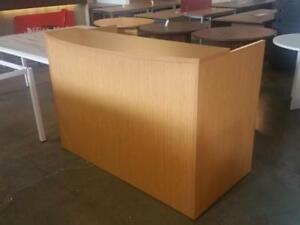 Classic 5ft Straight Reception Desk ($190) - Item #7666
