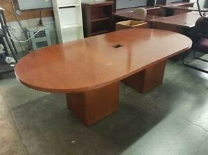 8ft Boardroom Table ($236 - $295) - Item #6733
