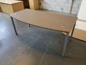 Modern Grey Steel Frame L Shaped Desks ($505.77) - Item #7541