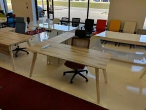 Modern L Shaped Desk ($910) - Item #7570