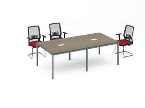 Modern 8ft Boardroom Table - BRAND NEW - Item #4815