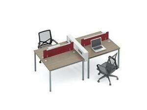 Modern Workstation For 4 ($763.66) - Item #4802