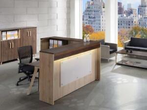 6ft Reception Desk ($980 - $1,255) - Item #3023