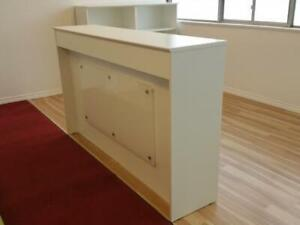 6ft Straight Reception Counter With Led Light ($525) - Item #7296
