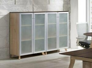 Medium Height Cabinet With Glass Doors ($425) - Item #3877