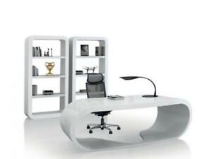 Ultra Hg   Modern High Gloss Elliptic Desk ($1,270.75 - $1,495) - Item #7447