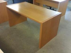 5ft Caramel Straight Desk ($25) - Item #6577