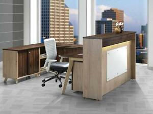 Modern U Shaped Reception Desk - BRAND NEW - Item #3873