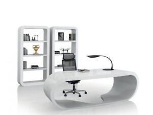 Ultra Hg   Modern High Gloss Elliptic Desk ($1,270.75 - $1,495) - Item #7447