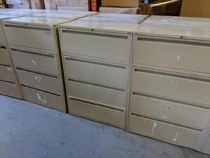 4 Drawer Lateral Cabinet ($195) - Item #7595