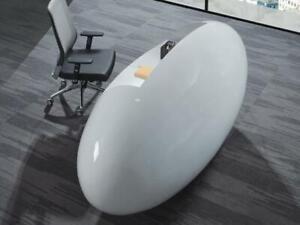 Ultra Hg   Modern High Gloss Reception Desk ($2,995) - Item #7713