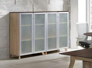Medium Height Cabinet With Glass Doors ($425) - Item #3877