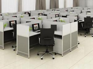 Modern 5ft X 5ft L Shape Workstation - BRAND NEW - Item #6400
