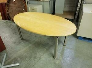 6ft Oval Boardroom Table ($146.25 - $195) - Item #6913