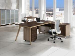 Executive L Shaped Desk ($750) - Item #3045