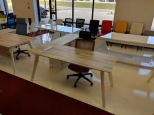 Modern L Shaped Desk ($910) - Item #7570