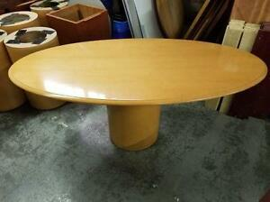 6ft Oval Boardroom Table ($146.25 - $195) - Item #6914