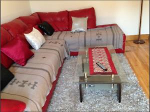 Rez de chaussé d'un duplexe  tout compris-entièrement meublé