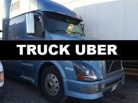 TRUCK UBER - 53' Vans, Reefers, Flatbeds, Container Delivery