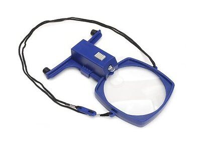 Hands Free Neck MAGNIFIER with LIGHT  Needlework Craft Reading Sewing Repairs