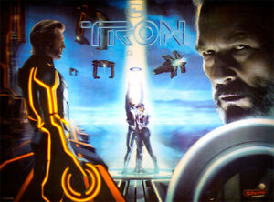 STERN TRON LEGACY LIMITED EDITION PINBALL MACHINE (LE) 1 of 500 - HOME USE ONLY