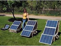 Domestic solar power system wanted can collect