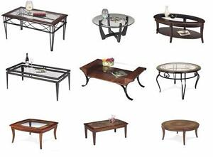 MASSIVE WAREHOUSE SALE ALL COFFEE TABLES MUST GO STARTING FROM $99