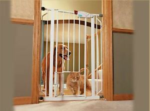 Two Carlson Extra Tall Pet Gates
