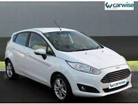 2016 Ford Fiesta ZETEC Petrol white Manual
