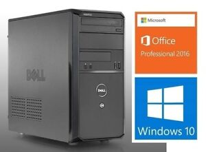 Dell Vostro 230: Q8400: 2.66 MHZ(4 Cores),4GB RAM,HD 320GB :125$