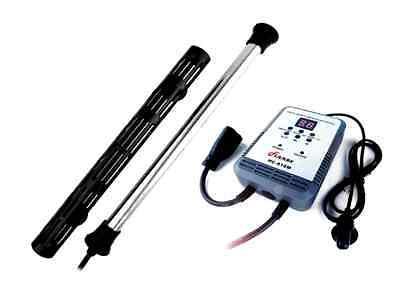 Finnex Titanium Aquarium Heater 500w or 800w, Optional Digital Controller