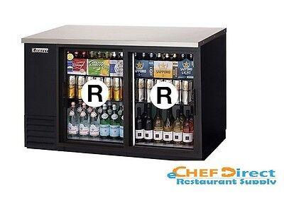 Everest Ebb59g-sd Back Bar Cooler 2 Glass Slide Door Refrigerator